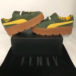 PUMA Fenty by Rihanna Cleated Creeper Suede Shoes